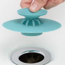 Tappo dello scolo del silicone, tappo dell'acqua del coperchio dello scolo della spina del tappo dello scolo della cucina della vasca di bagno