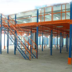 Estructura de metal pesado Boltless Ático estantes estantes de la plataforma intermedia pisos kits de rack estanterias