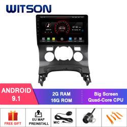 """Wotson Grand écran 9"""" voiture DVD radio GPS pour Citroen Auto-Aircondition 3008 (2013-2016)"""