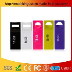 Stok USB van het Geheugen van de Flits USB van de Aandrijving van de Flits van de Aandrijving USB van de Pen van de Schijf van de Flits van het metaal USB de Waterdichte Mini