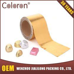 チョコレートおよび食品包装のための食品等級カラーアルミホイル