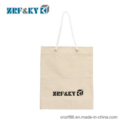 Custom Printed 100% Recycled Tote Shopping Cotton Canvas Fabric Bag