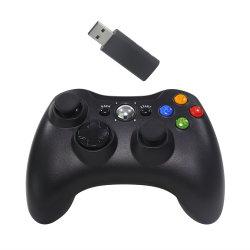Accès sans fil noir du contrôleur de jeu/gamepad /de la manette pour XBox360.