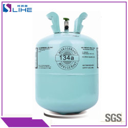 13.6kg 100% Purity R-134A&R134A Automobile Air conditioning Refrigerant Gas