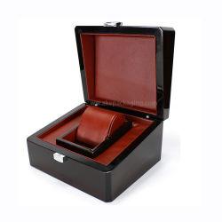 Commerce de gros personnaliser boîte à bijoux en bois vernis brillant de l'emballage Watch Box