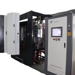 La riga di rivestimento della polvere/plastica parte la macchina della verniciatura a spruzzo PVD/rivestimento di alluminio di vuoto
