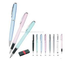 Penna di sfera dell'acciaio inossidabile & penna di fontana di Pen& del rullo