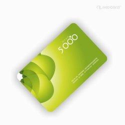 Plástico inteligente MIFARE Classic 1K S50 RFID empresariais PVC Cartão ID
