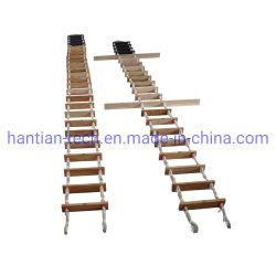 Solas de Vervangstukken van de Kabel van het Schip van de Loods voor ProefVan de Stap van de Ladder van de Kabel Houten Rubber EG- Certificaat