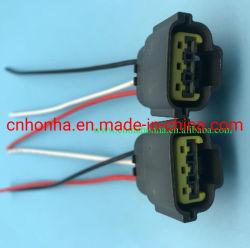 3 connettore automatico impermeabile femminile dell'automobile del cablaggio del collegare del connettore del sensore TPS di Pin 6098-0141