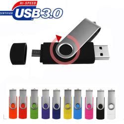 10PCS liberano il disco su ordinazione dell'azionamento 64GB Pendrive 8g 16GB U dell'istantaneo del USB del USB 3.0 dell'azionamento 32GB OTG della penna di marchio (per il regalo di cerimonia nuziale del PC di smartphone)