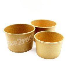 Non toxique de l'artisanat de la Soupe de papier jetable tasse avec film PE