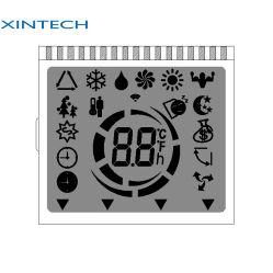 LCD-display 7 Segment 4 digit alfanumeriek LCD-scherm met waterbestendig Connector