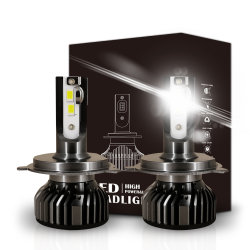 Rimontaggio NASCOSTO alogeno di Csp 6-PCS-Chipset di alta luminosità F2 tutte le automobili H1 H3 H4 H7 H11 9005 9006 per il faro del LED