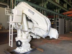 Para los buques de carga de agarre plegable grúa de brazo articulado de la grúa Marina