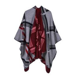 Herbst-und Winter-Kaschmir-Diamant überprüfter Schal für Männer und Frauen