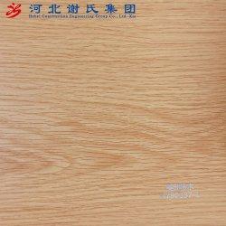 Meubles en bois de laminage PVC Film Feuille en PVC de Texture Membrane vide Appuyez sur pour le MDF