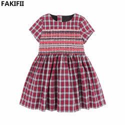 2021 Factoy Price High End Children Cloes Summer Fashion Clothy ثوب بليد القطن للفتيات