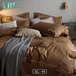 Intersección de dos colores Fantasy 100% poliéster cuatro piezas de ropa de cama