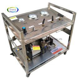 تيريك براند عالية الجودة 300 بار إخراج الهواء الشعبي المحمول محطة تعزيز الغاز المدارة لاختبار الأسطوانة