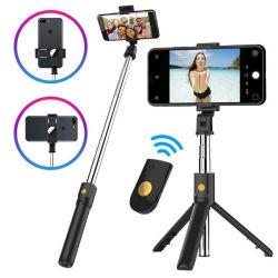 Bastone di Selfie del basamento del treppiedi del telefono mobile K10 con telecomando di Bluetooth