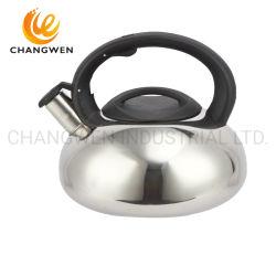 Neues bewegliches einzelnes unteres Bakelit-Griff-Metallbunter Tee-Kessel mit Drehknopf