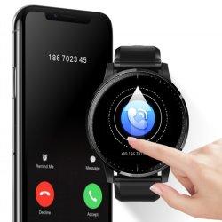 """HD 1.3の""""完全な接触カラースクリーン心拍数の血圧のモニタリングのBluetoothのブレスレットが付いている人間の特徴をもつIosのスマートな腕時計"""