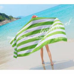 中国機械洗濯できるビーチタオル、厚くおよびポリエステルビーチタオル及びプールタオル