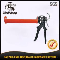 Pistola de calafetação de alta qualidade profissional 400ml/9 polegadas pistola de calafetação de tubos de aço