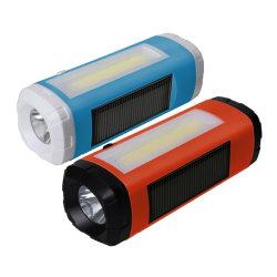 Zonne Mini Draagbare Spreker Bluetooth met Radio LEIDEN van de FM Flitslicht