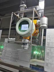 Allarme ad ossigeno e gas in linea fissato al muro per temperatura elevata (O2)