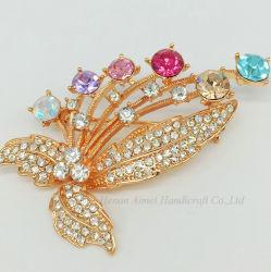 Commerce de gros Hot de vendre des bijoux Brooch Pin charmant de haute qualité CZ BROCHES