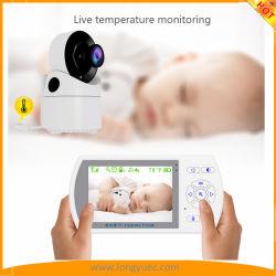 Беспроводной видео наблюдения за ребенком- ночного видения камеры и два аудио системы и контроль температуры 2,4 для ребенка для безопасности и защиты