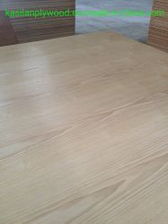 Oak/Ash/Sapeli/Teca/Walnut/Beech/Cherry/Maple Natutal laminado de madeira contraplacada de fantasia para mobiliário