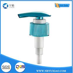 Dispensador de líquido de plástico azul Pulverizador de separación de loción de tornillo bombas de mano 24/410 para el cuarto de baño productos/artículos de tocador y limpieza y aseo (YX23-1)