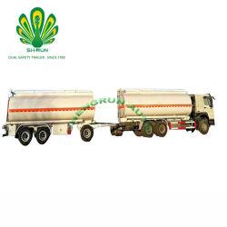 2/3 de los ejes con compartimento 45000-600004 L de aceite de acero al carbono/transporte de crudo de petróleo/gasolina/diesel/gasolina/crudo/agua/transporte de leche