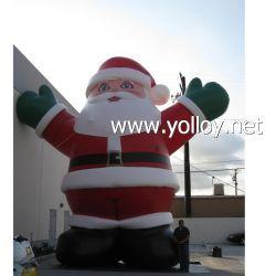 Immense Décoration de Noël Gonflable Père Noël