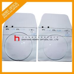 1.56 65mm única visão Super lente óptica hidrófobas