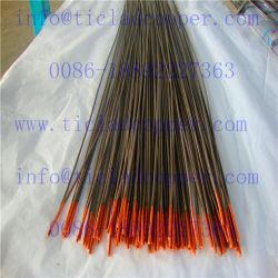O titânio folheados ou chapeados de fio de cobre