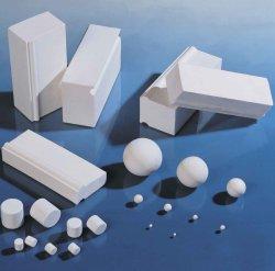 Revestimiento de cerámica de la placa de cerámica de alúmina para máquina de molino de bolas de cerámica de alúmina resistentes al desgaste