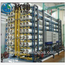 Membrana RO Sistema de Tratamento de Água Salgada equipamentos de Dessalinização da Água