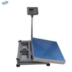 Elektronische Plattformwaage Gewicht Bodenplattform Tischwaage 30kg 60kg 100kg 300kg 500kg