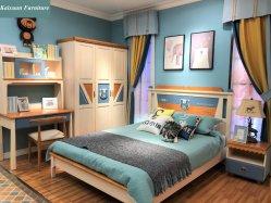 Il legno solido bello scherza la mobilia della base in mobilia della camera da letto