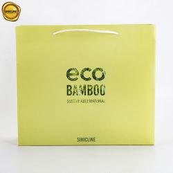 Sinicline Eco Friendly Fibre de bambou de sacs de magasinage de cadeaux en papier
