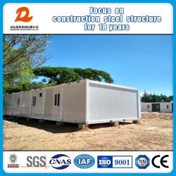 Heatproof en de Waterdichte Bouw/het Huis van de Verschepende Container van het Staal voor het Kamp van de Arbeid met de Badkamers van het Toilet van de Keuken