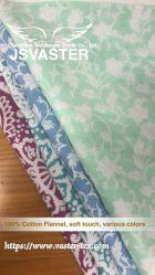 Tessuto della flanella stampato cotone puro