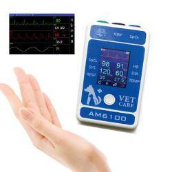 Берри AM6100 Multiparameter ETCO2 ветеринарных монитора пациента животных больницы медицинские жизненно важных признаков сердечной нескольких параметров пациента для измерения кровяного давления