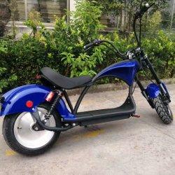 2000W duas bateria portátil removível gordura Citycoco Scooter Eléctrico de longo alcance do Pneu
