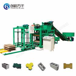 Industrias Qtj4-25 bloque hueco de ladrillo de hormigón maquinaria de la pavimentación de máquina bloquera