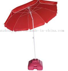 OEM の反 UV 広告された浜の回転可能な庭の広告の傘